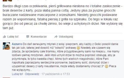 Azzurro Kielce Opinie